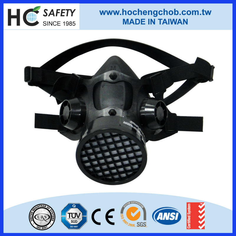 powered air purifying fume gas mask chemical mask respirator