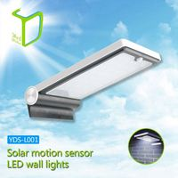 Yardshow Sample Available Light-control Motion Sensor Activated solar porch lights outdoor lighting for garden yard