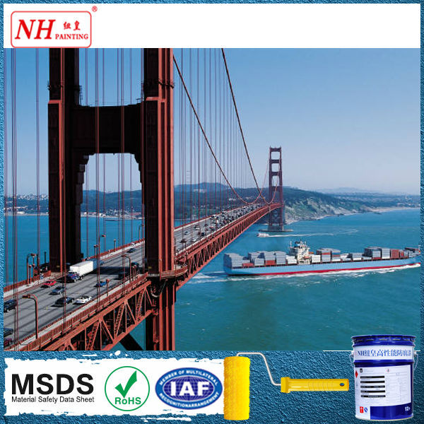 High gloss durable finish Polyurethane Bridge Paint
