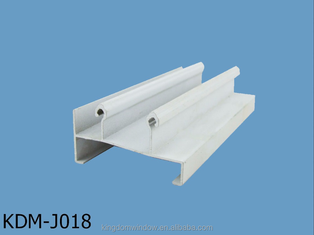 White shape sliding door and windowdoor accessories aluminum glass frame extrusion