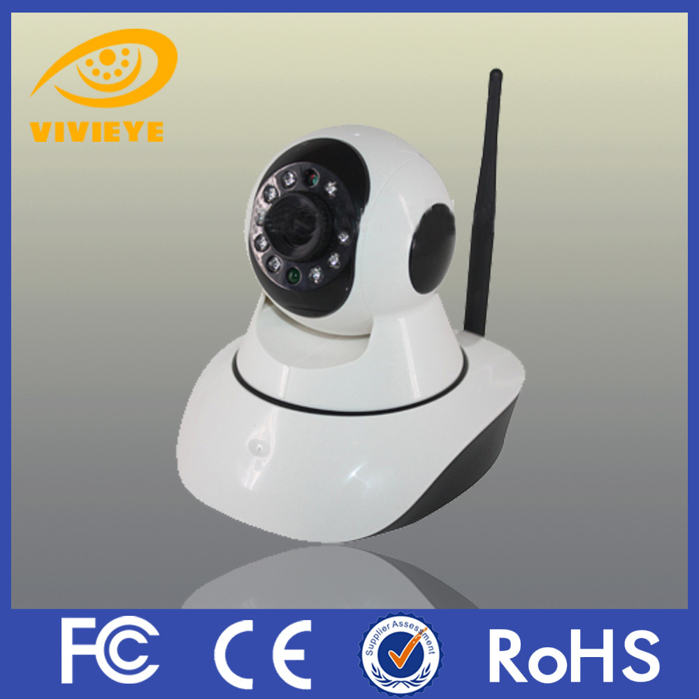ip wireless security camera P2P 720P HD Resolution 1MP PTZ Mini Robot Ball Wifi IP Camera With Inbuilt TF Card Slot