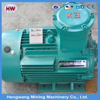 HWGK three phase AC motor 1HP-430HP /High speed electric motor