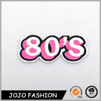 Promotional Word Logo Jewelry 80s Embroidery Custom Pins