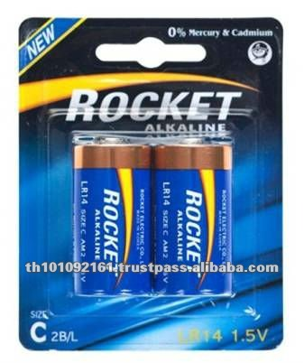 Hot Selling 1.5V C LR14 Alkaline Dry Cell Battery
