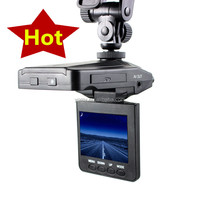 HD 720P H198 car DVR with 2.5 TFT LCD SCREEN 6 LEDS for IR and night visio