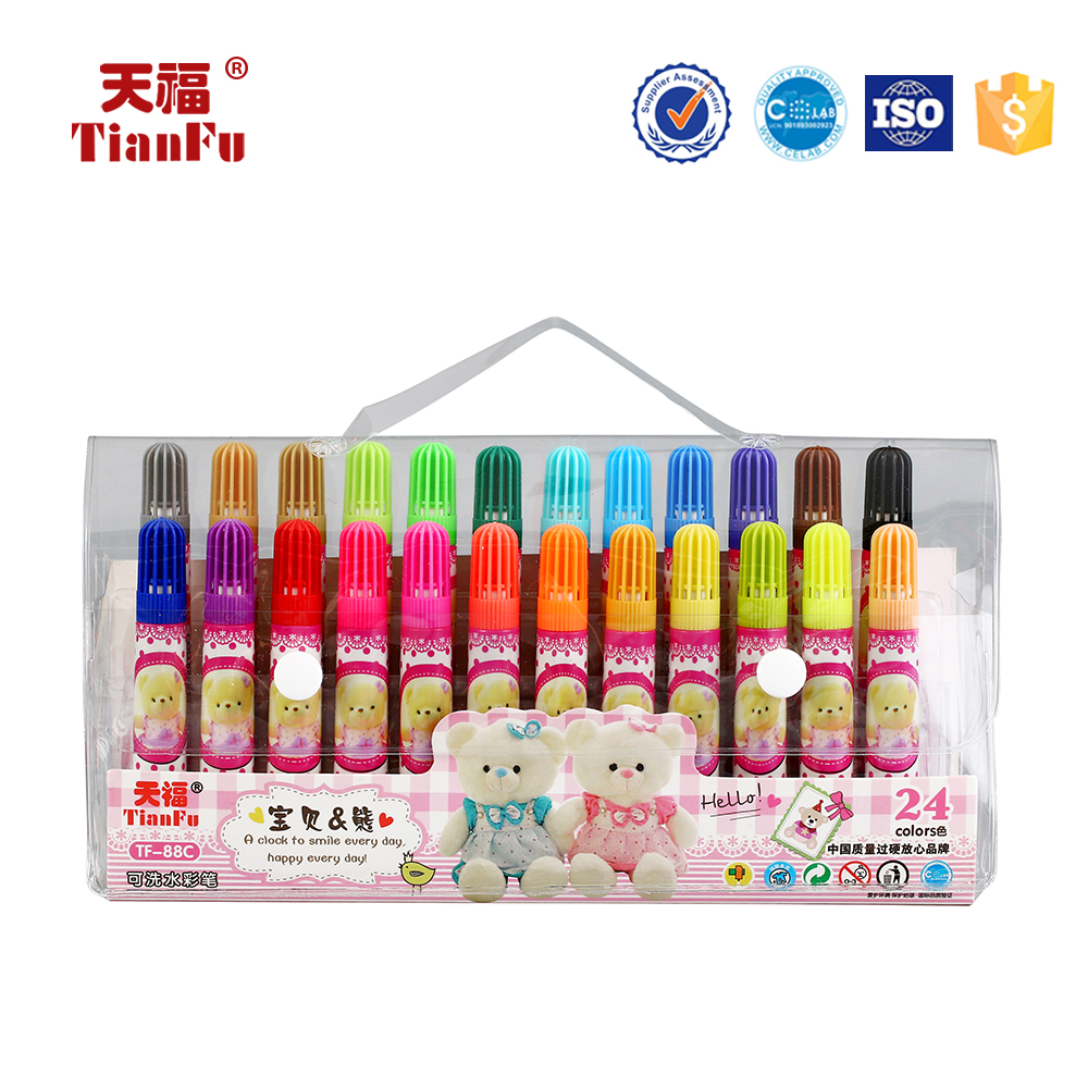 Customized design magic washable colourful water color pen