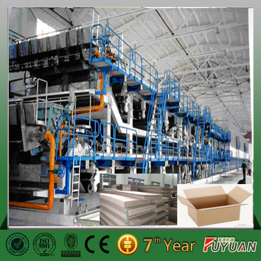 2400mm multi cylinder mould multi dryer can craft paper making machine