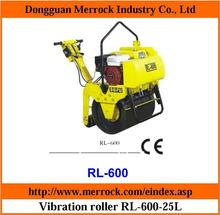 Single drum roller Walk-behind vibration roller