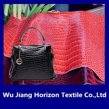 factory supplier ! high quality Upholstery pvc leather for bag