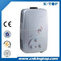 5 6 7 8 9 10L zero water pressure gas water heater For Pakistan