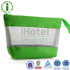 Green Nature Durable Fashion Linen Cosmetic Bag Plastic Toiletry Bag
