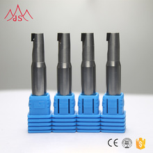 High Hardness Milling Cutter Solid Carbide Tapered Ball Nose End Mills