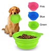 OEM Dinnerware Private Label 100% Food Grade Collapsible Silicone Pet Bowl