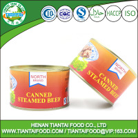 free sample halal canned food canned steamed beef