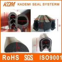 Water-proof auto rubber components black rubber wedge