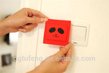 New arrival dustproof silicone safety light switch cover