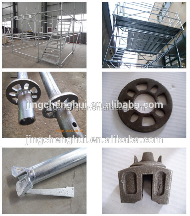 Construction Ringlock Scaffolding Standard with Spigot For Sale