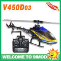 Walkera V450D03 6CH Generation II 6 Axis Gyro Brushless Flybarless Large RC Helicopter W/T Walkera DEVO 7 Transmitter RTF