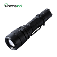XM-L2 U2 Lens Aluminum alloy flashlight 6061-T6 A waterproof outdoor hunting camping led torch Chenglnn