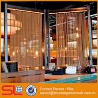 Architecural Metal Mesh Fabric Drapery Curtain