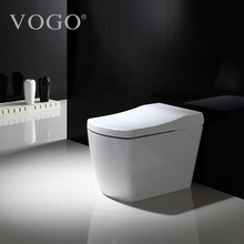 Sanitary Luxury Flush Button Toilet Pots