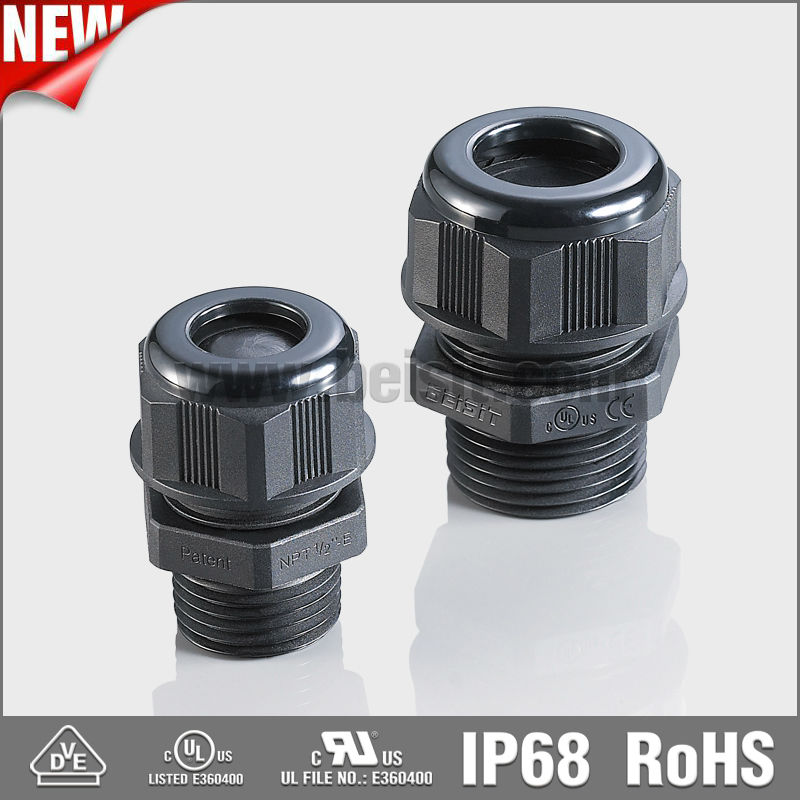 NPT nylon cable gland shroud