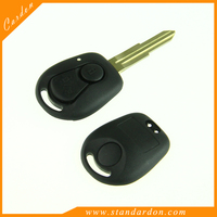 Car Remote Fob Key Shell Keyless Uncut Blank Case replacement for Ssangyong Actyon Kyron Rexton