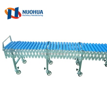 2016 China Professional Carbon Steel Galvanized Chain Driven Gravity Curve Roller Conveyor