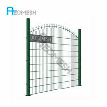 PVC Coated Double Ring/Circle Fence/Decorative Small Garden Fence with High Quality