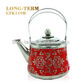 LTK1231 Fashion design stainless steel tea kettle unique tea kettles