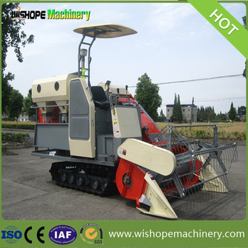 Cheap Chinese Rice Harvester for Cambodia Farmer