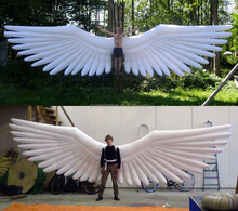Large inflatable angel wings,inflatable backpack decoration
