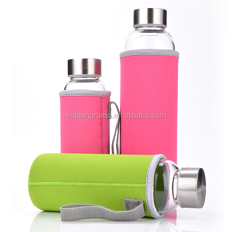 Drinking glasses wholesale promotional gift, water drinking glass bottle