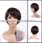 Ladies' wig human hair wig ,best quality ,all hand tied ladies wig