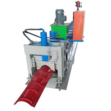 Widely Used Color Steel Metal Roof Ridge Cap Tile Cold Roll Forming Machine/Making Machine China Botou