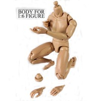 Blank Action Figure, Male Body Jointed Action Figure