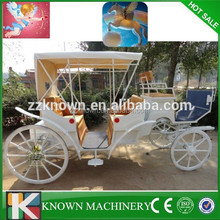 cinderella electric or horse carriage\wagon for wedding carriage
