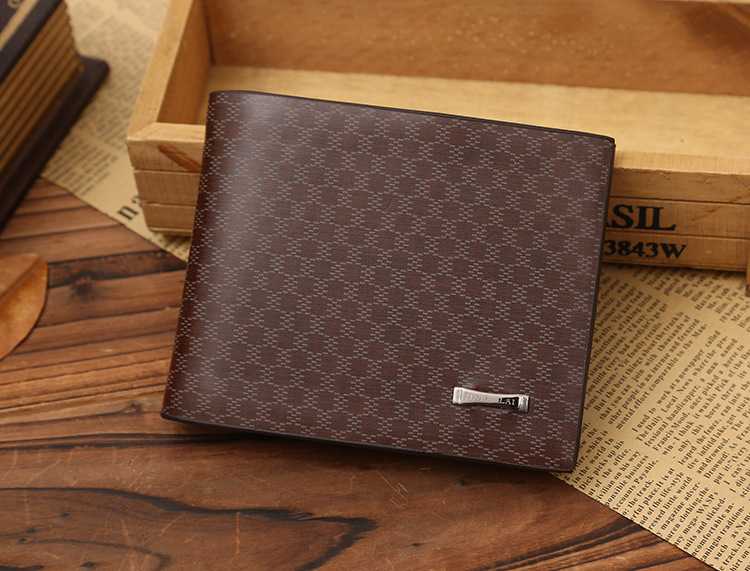 Fashion leather best young man wallet