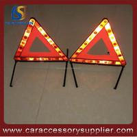 Long Distance Visibility road traffic sign Warning Reflective Triangle
