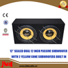 12 Inch Dual Subwoofer Enclosure For Pa system Speaker Box With 250w New products