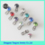 Good selling G23 Titanium Body Jewelry Crystal Mirco Dermal Anchor Tops