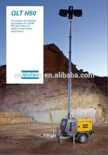 AtlasCopco Light tower QLT H50: Diesel driven Light Tower with 4x1000W HID lamps and a hydraulic mast