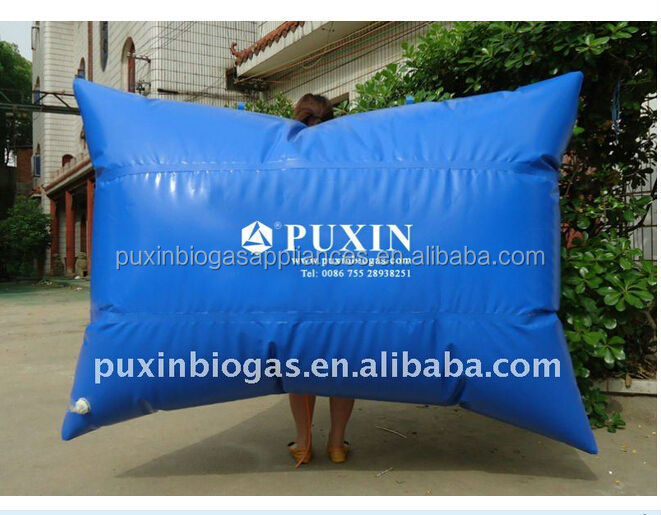 EX-factory price PVC biogas storage balloon