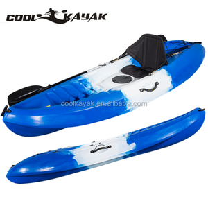 Professional LLDPE plastic recreation kayak, single person kayak