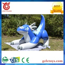 2017 Hot Selling Promotional PVC green inflatable sea dragon/inflatable zenith dragon for advertising