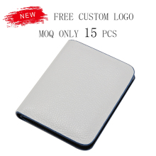 Hot sell classic slim 6 card holders bifold men leather wallet