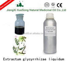 Pure natural extractum glycyrrhizae liquidum for resolve phlegm and relieve cough in good quality