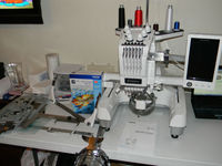 Excellent Condition Brother PR-650 Embroidery Machine