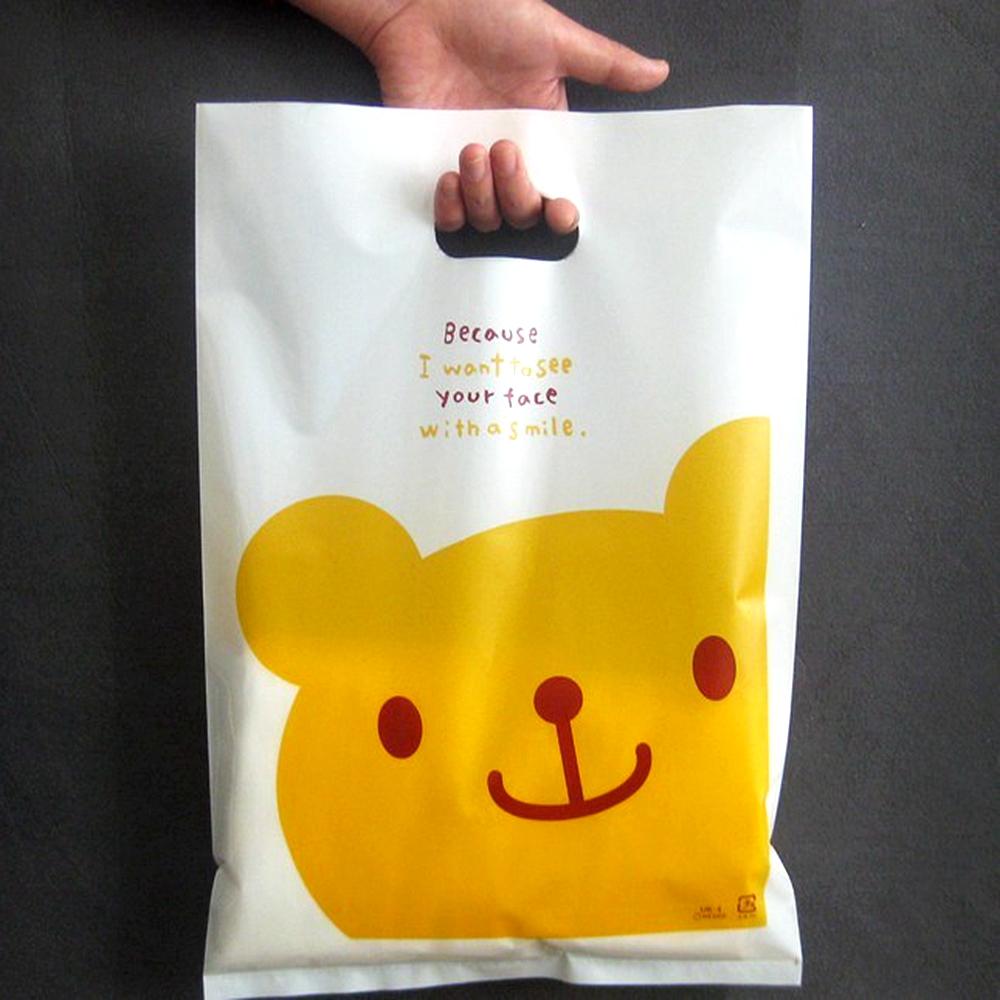 Custom Logo Printed Pe Plastic Shopping Bags Wholesale In ...