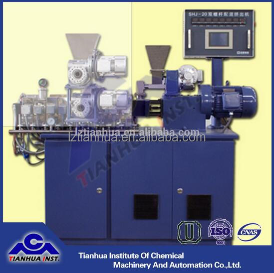 Lantai high quality SHJ-18 twin screw extruder for plastic industry